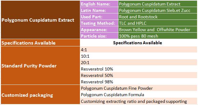 specification of Polygonum Cuspidatum Extract.png